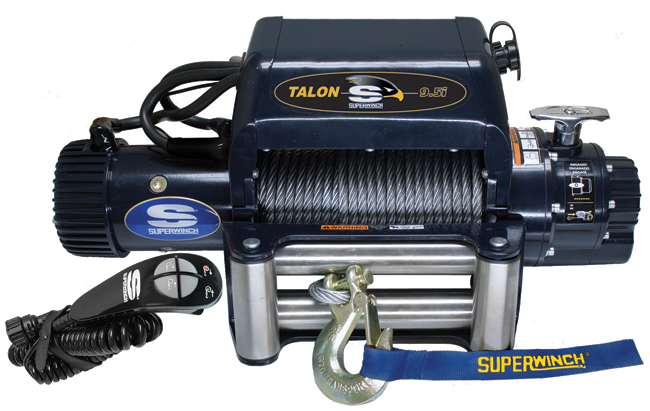 Superwinch TALON 9,5i vajer