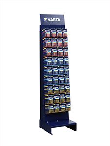 Varta golvställ med batterier