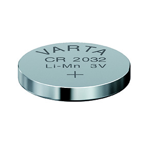 Batteri CR2032 3V litium