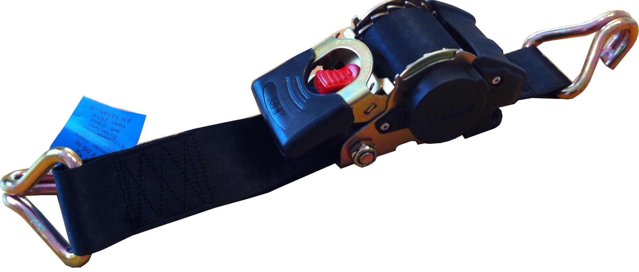 Sidontaliina 50mm-3m 750kg itsekelautuva, koukkupäät