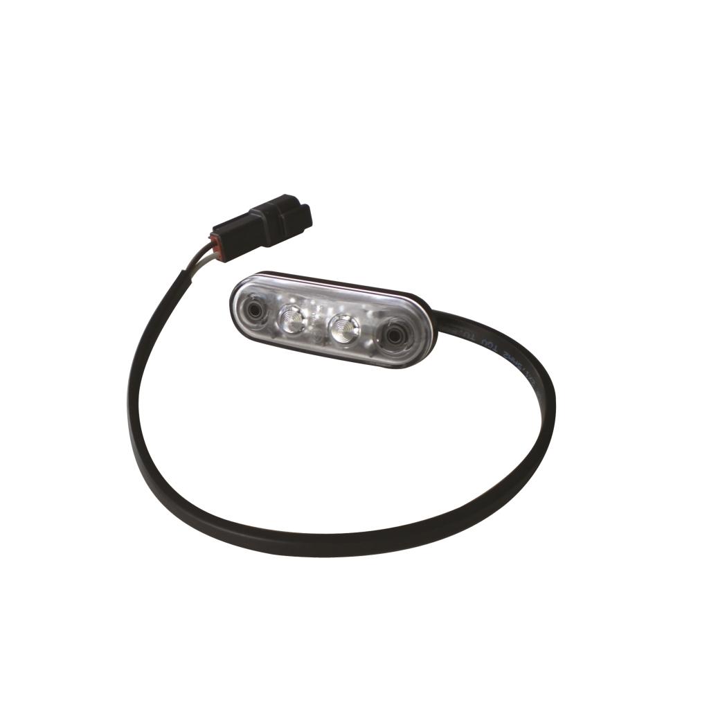 Äärivalo LED Deutsch DT, valkoinen 24V
