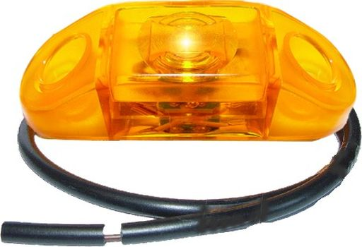 Äärivalo LED, keltainen 24V