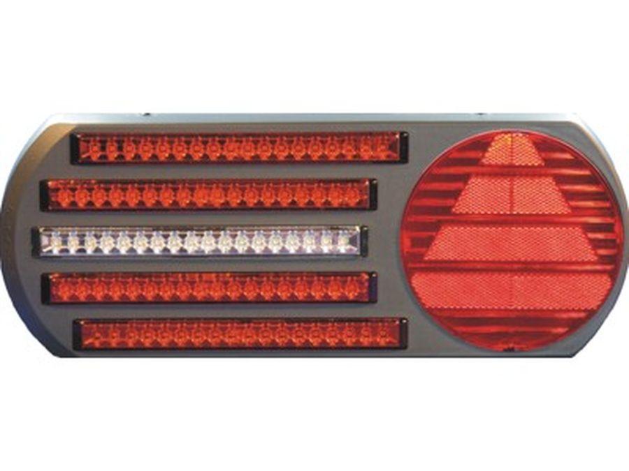 Taka Äärivalo Pro-5 LED Takavaloryhmä 3 toimintoa, vesan 24V