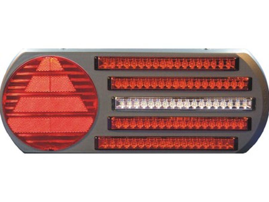 Taka Äärivalo LED Takavaloryhmä 3 toimintoa, oikea 24V
