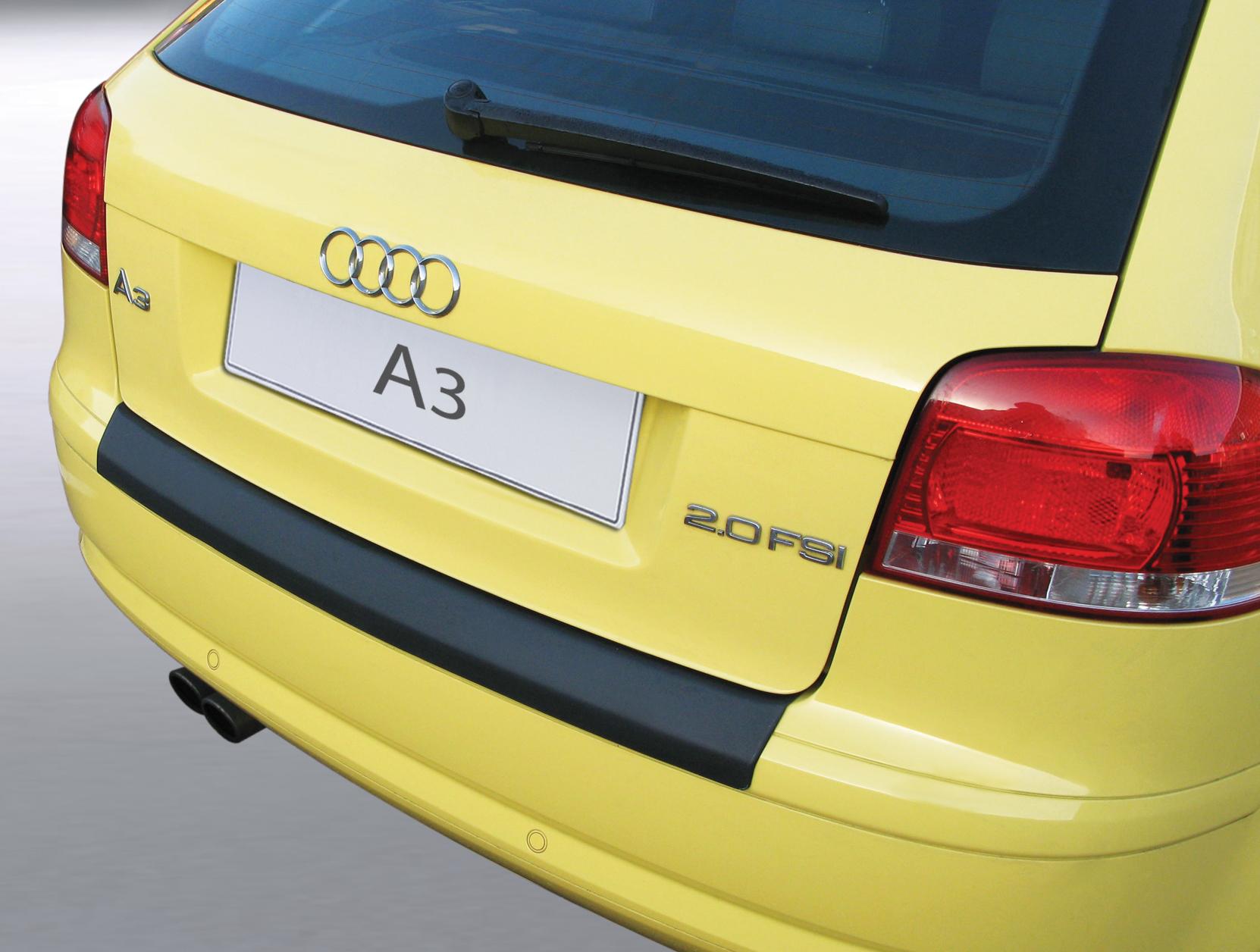 Takapuskurin kolhusuoja Audi A3 3d 2003-2008 (EI AVO)