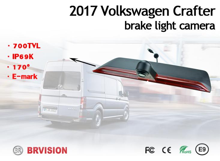 Jarruvalokamera VW Crafter 2017 PAL-kuvasignaali