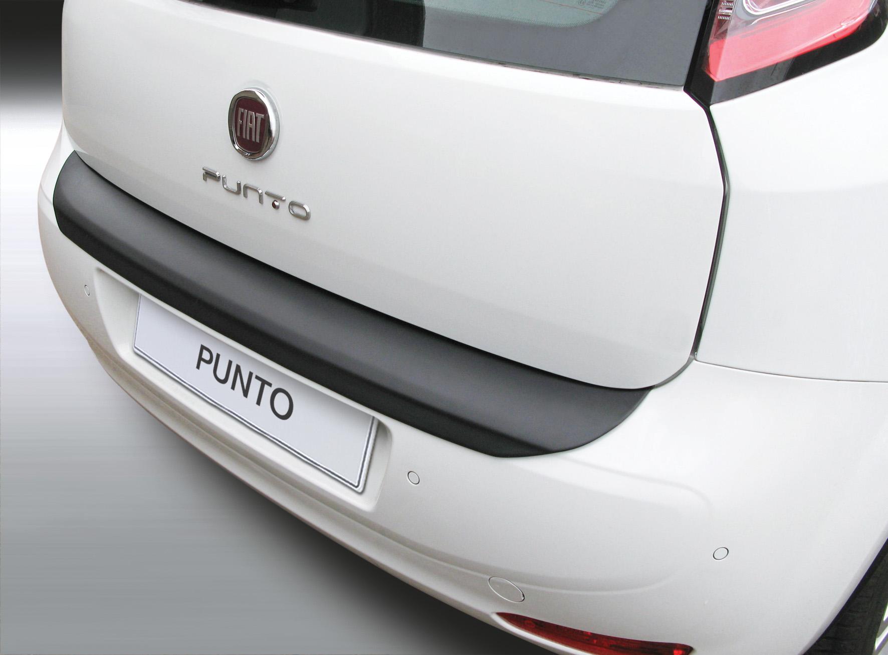 Takapuskurin kolhusuoja Fiat Punto 1/2012-