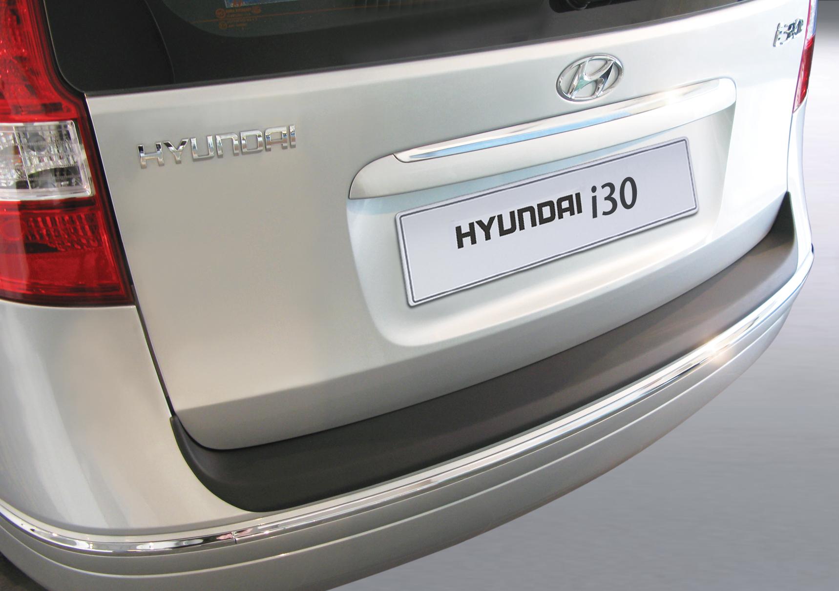 Takapuskurin kolhusuoja Hyundai i30 Estate -6/2010