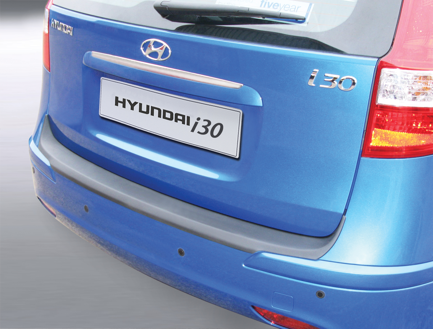 Takapuskurin kolhusuoja Hyundai i30 Estate 7/2010-6/2012