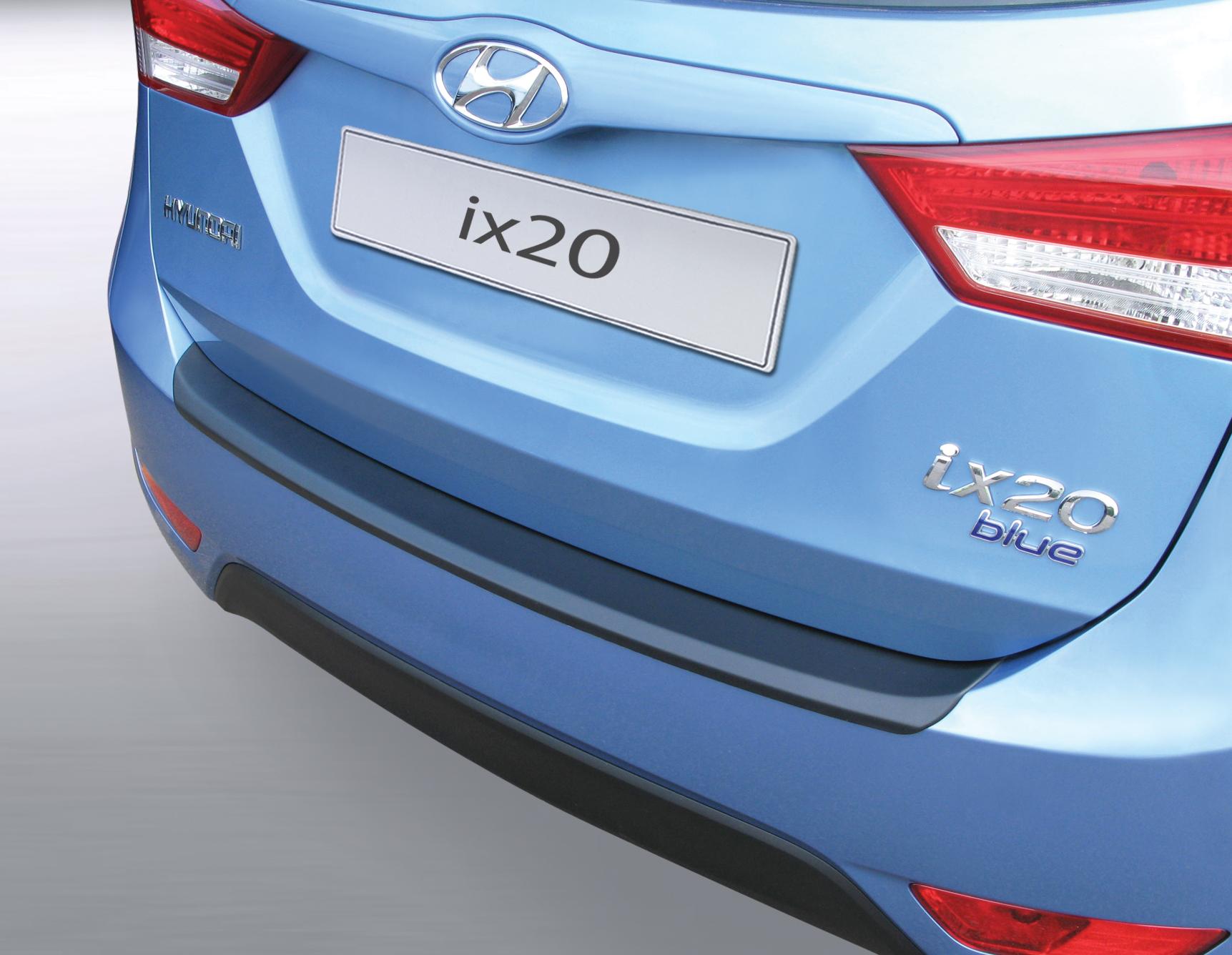 Takapuskurin kolhusuoja Hyundai ix20 11/2010-