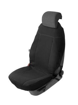 Istuinsuoja Maxim yleismalli, musta kangas