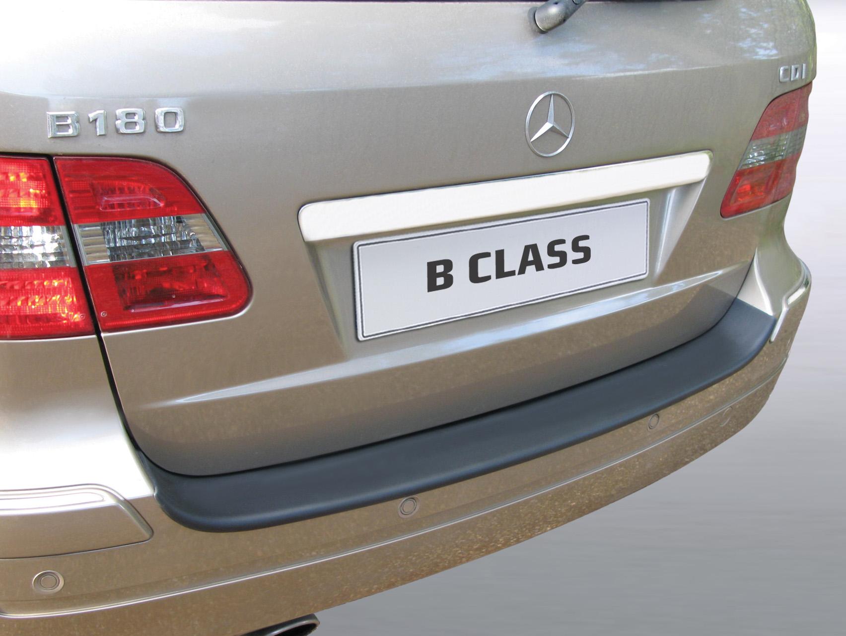 Takapuskurin kolhusuoja Mercedes B-sarja 7/2005-10/2011