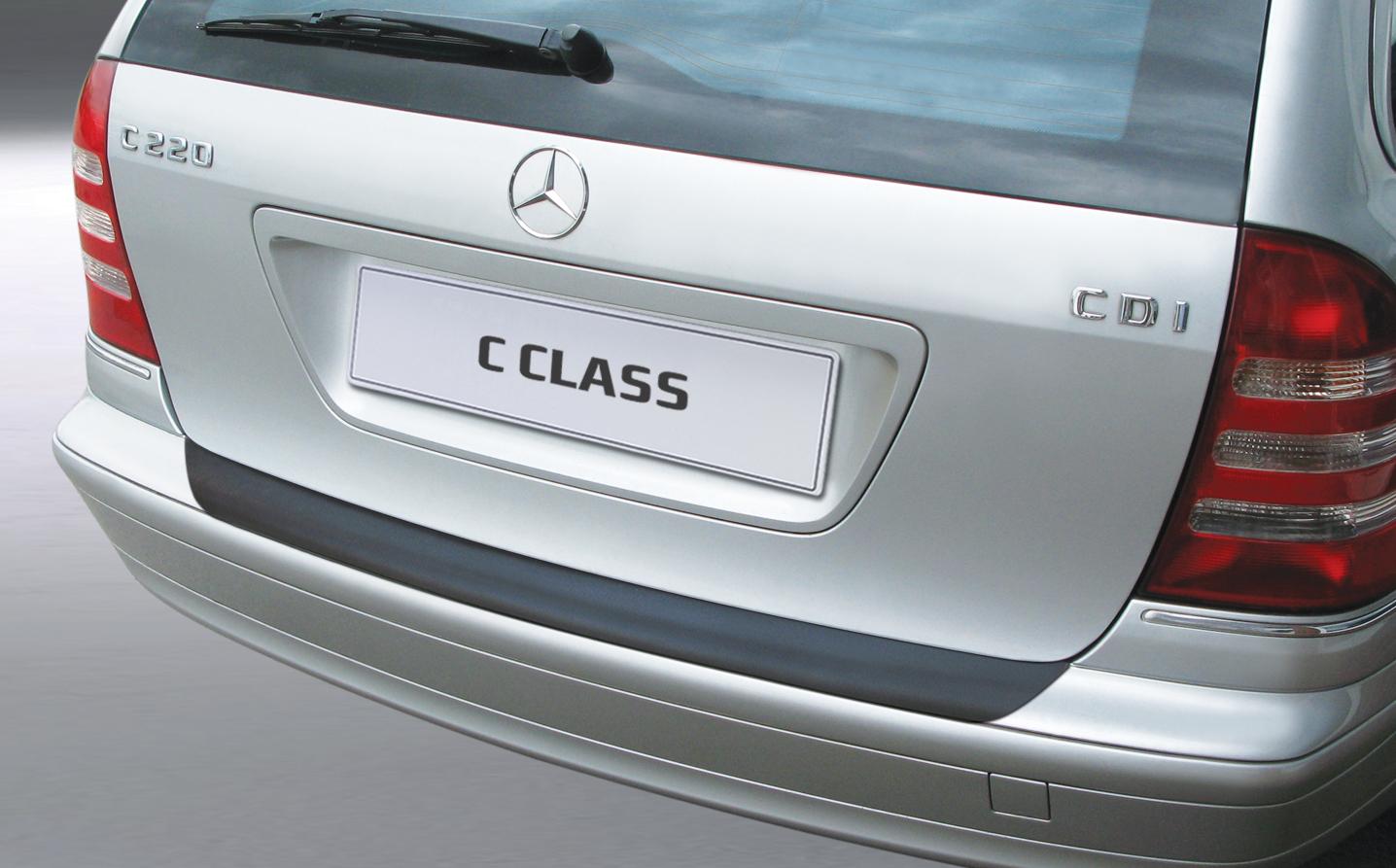 Takapuskurin kolhusuoja Mercedes C-sarja Estate 2001-9/2007-