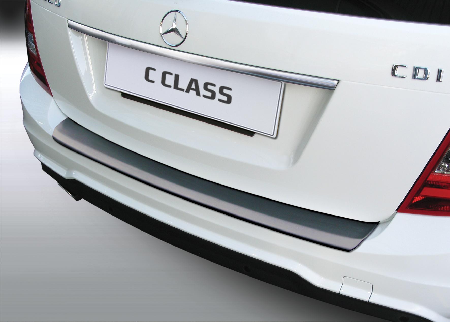 Takapuskurin kolhusuoja Mercedes C-sarja Estate 3/2011-