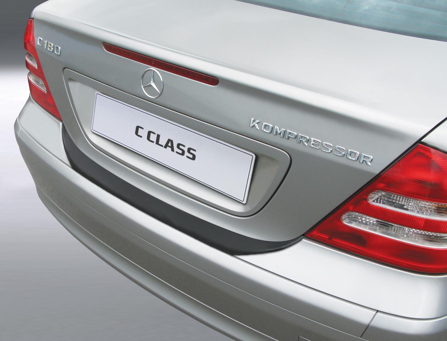 Takapuskurin kolhusuoja Mercedes C-sarja Sedan 3/2000-2/2007