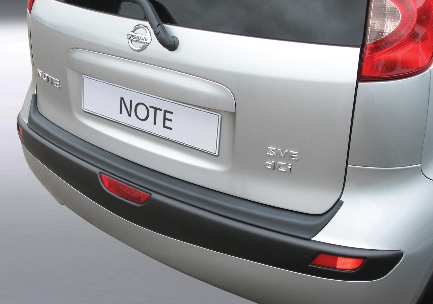 Takapuskurin kolhusuoja Nissan Note 3/2006-9/2013