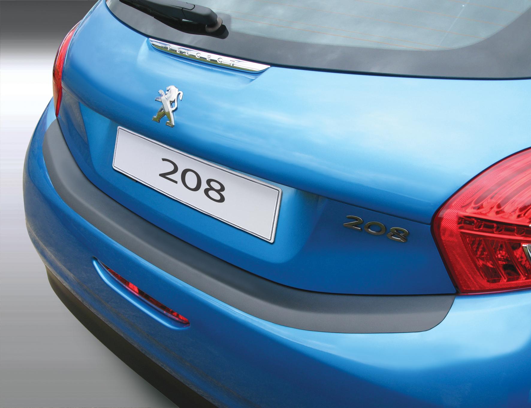 Takapuskurin kolhusuoja Peugeot 208 3/5d 4/2012-