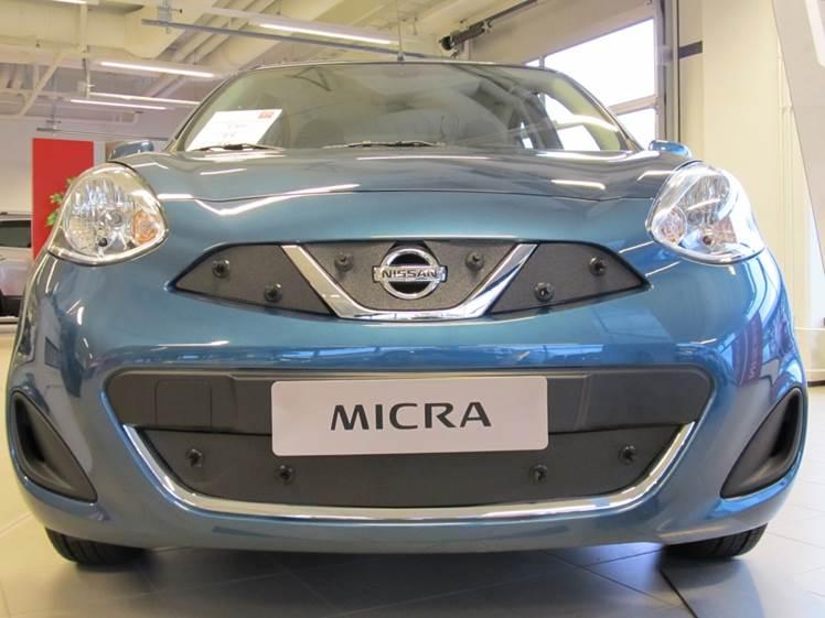 Maskisuoja Nissan Micra 2012- (Kopio)