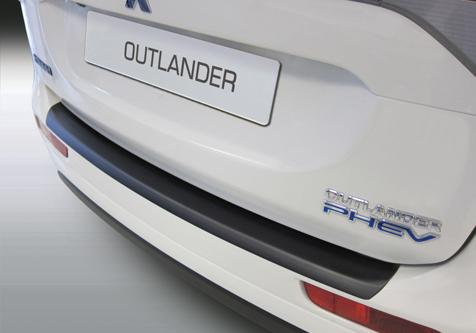Takapuskurin kolhusuoja Mitsubishi Outlander 1/2013-