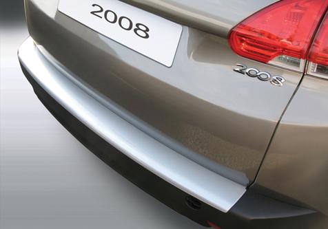 Takapuskurin kolhusuoja Peugeot 2008 6/2013-