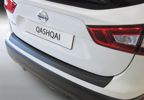 Takapuskurin kolhusuoja Nissan Qashqai 3/2014-7/2017