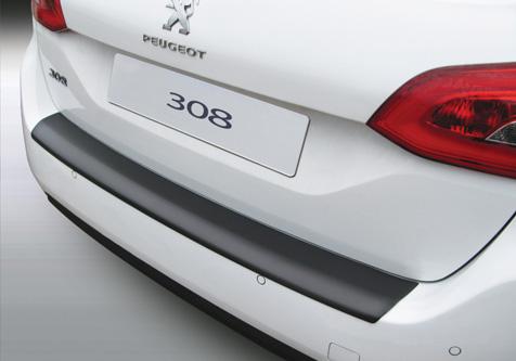 Takapuskurin kolhusuoja Peugeot 308 SW 4.2014-