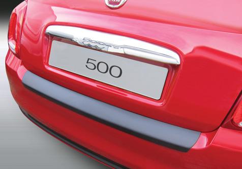 Takapuskurin kolhusuoja Fiat 500 7/2015-