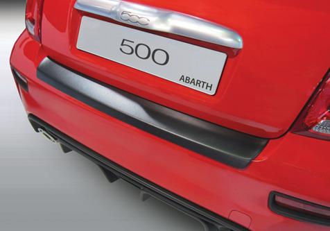 Takapuskurin kolhusuoja Fiat 500 Abarth 4/2016-