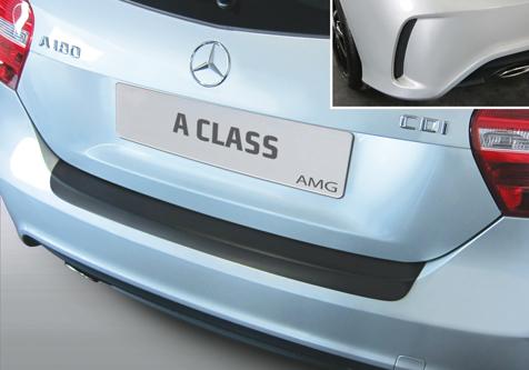 Takapuskurin kolhusuoja Mercedes A-sarja AMG 9/2012-