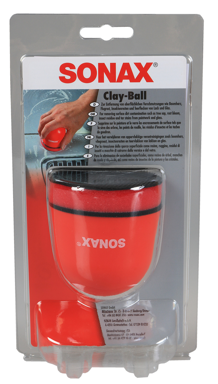 SONAX Clay Ball pallonmuotoinen savisieni