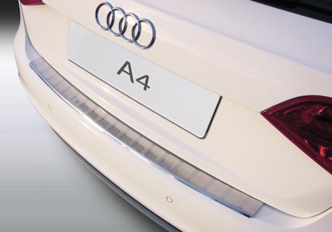 Takapuskurin kolhusuoja Audi A4 Avant 08-12, Rosteri