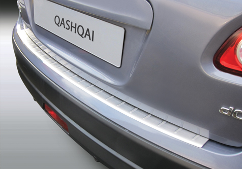 Takapuskurin kolhusuoja Nissan Qashqai J10 07-13, Rosteri