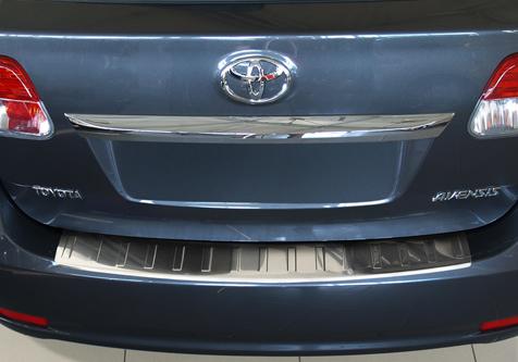 Takapuskurin kolhusuoja Toyota Avensis Kombi 09-11, Rosteri