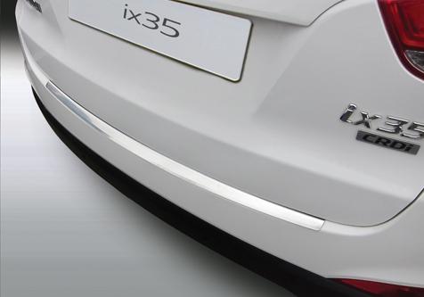 Takapuskurin kolhusuoja Hyundai IX35 10-15, Rosteri