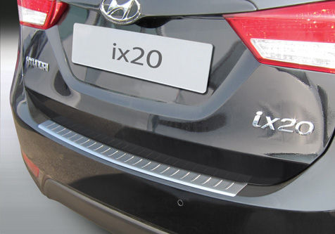 Takapuskurin kolhusuoja Hyundai IX20 10-, Rosteri