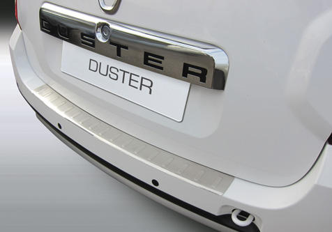 Takapuskurin kolhusuoja Dacia Duster 10-, Rosteri