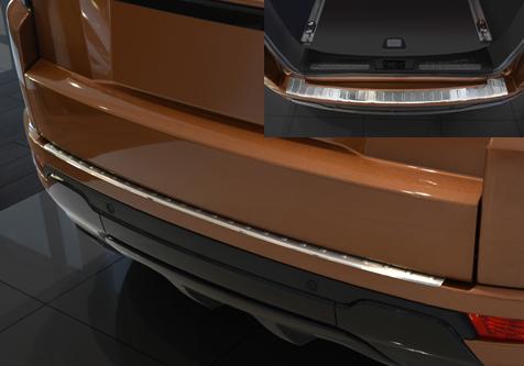 Takapuskurin kolhusuoja Range Rover Evoque 9/2011-, Rosteri