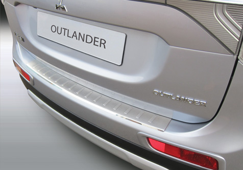 Takapuskurin kolhusuoja Mitsubishi Outlander 12-15, Rosteri