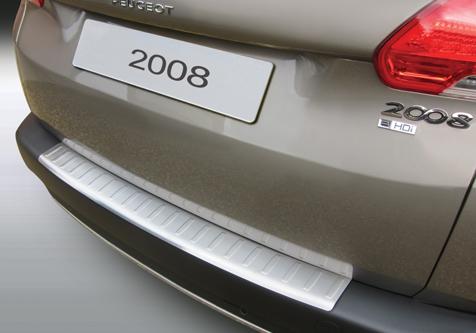 Takapuskurin kolhusuoja Peugeot 2008 Crossover 13-, Rosteri