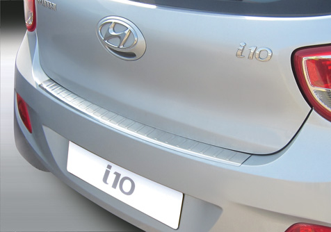 Takapuskurin kolhusuoja Hyundai i10 13-, Rosteri
