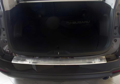 Takapuskurin kolhusuoja Subaru Forester IV 13-, Rosteri