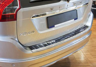 Takapuskurin kolhusuoja Volvo XC60 FL 13-, Rosteri