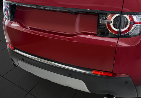 Takapuskurin kolhusuoja Land Rover Discovery Sport 15-,Roster