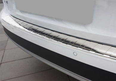 Takapuskurin kolhusuoja Audi A4 Allroad 11/2015-, Rosteri