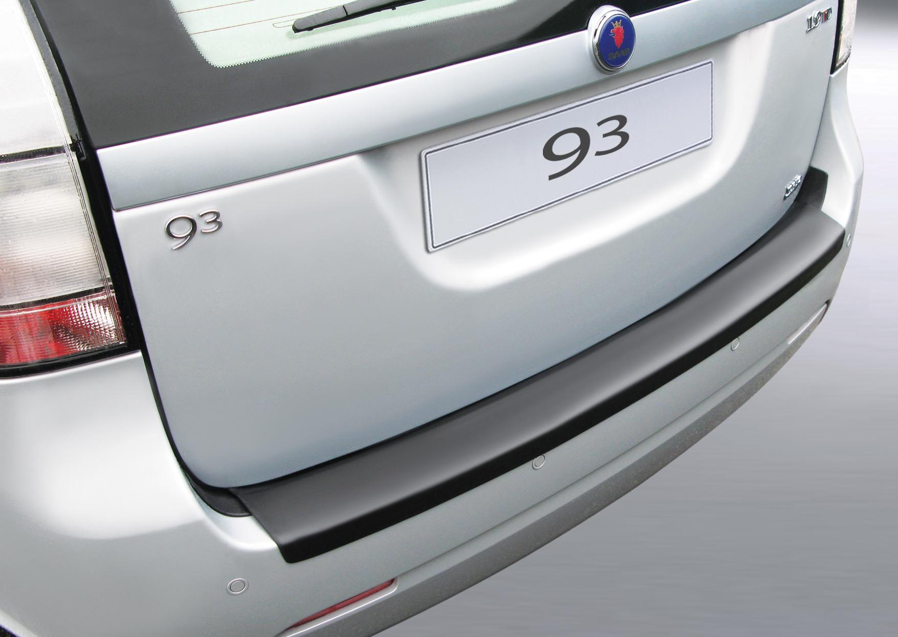 Takapuskurin kolhusuoja Saab 9-3 Combi 3/2005-
