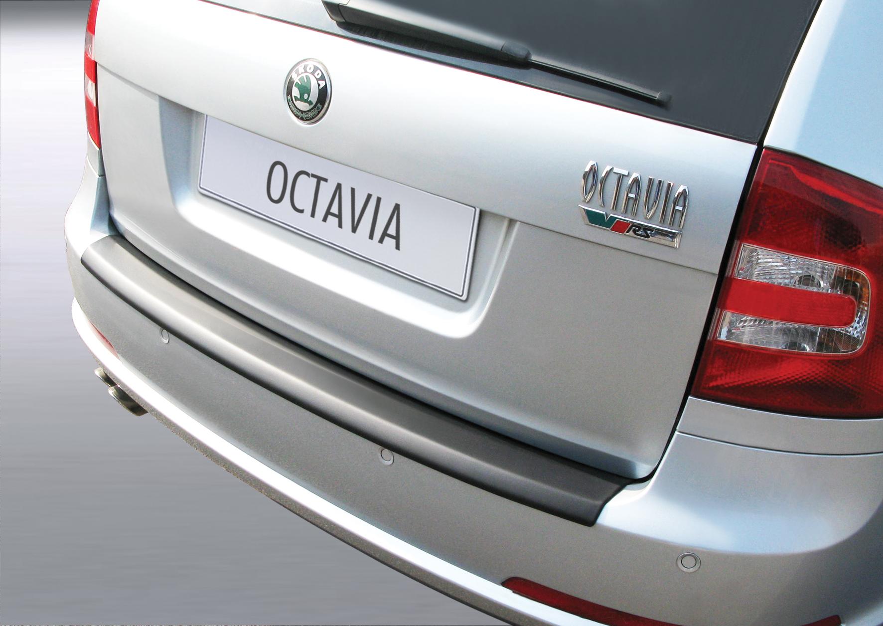 Takapuskurin kolhusuoja Skoda Octavia II VRS -12/2008
