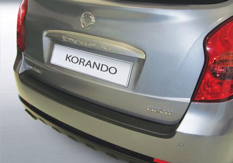 Takapuskurin kolhusuoja Ssangyong Korando 1/2011-