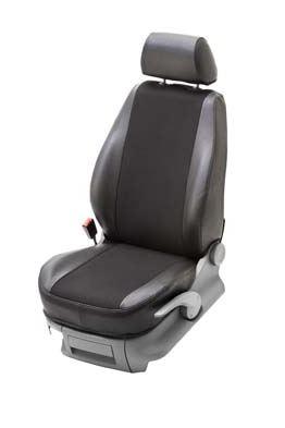 Istuinsuoja Stark VW Passat 2011-2014 musta, vasen istuin
