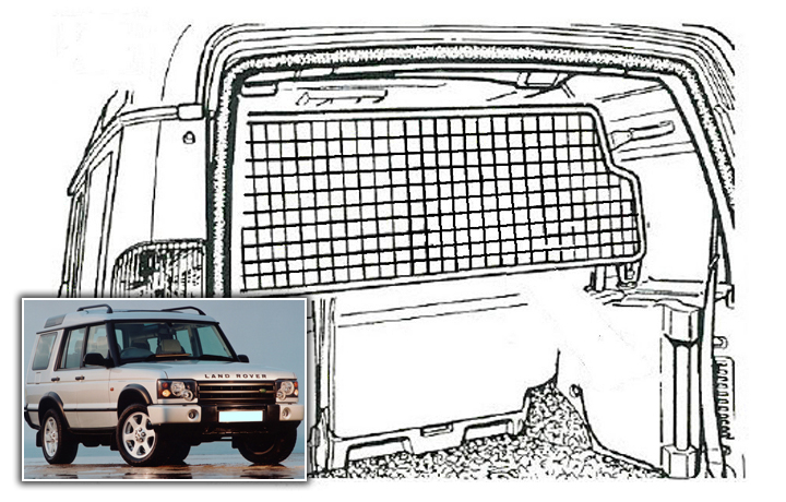 Koiraverkko Land Rover Discovery 2 1998-2004