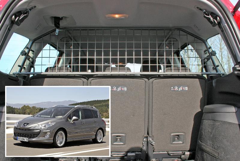Koiraverkko Peugeot 308 SW 2008-2014 kattoluukulla